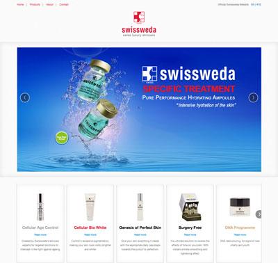 Swissweda website by Redooor Studio