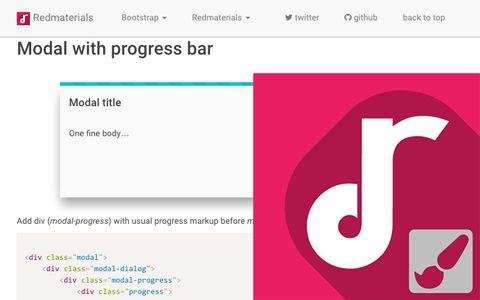 Redmaterials Frontend CSS theme based on Bootstrap by Redooor