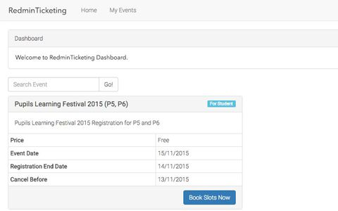 Ticketing System by Redooor